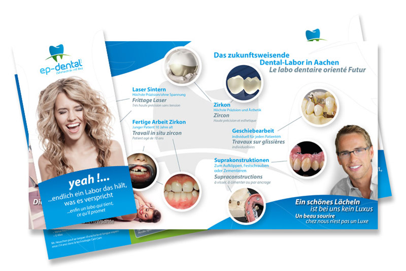 Epdental Falzflyer